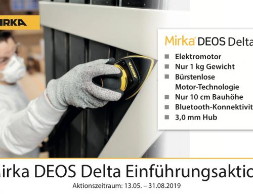 Mirka Einführungsaktion DEOS Delta
